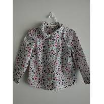 Camisa Floral - 3 anos - Gymboree