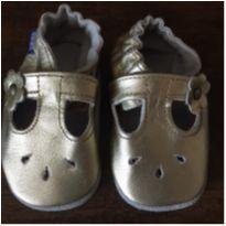 Sapatilhas de bebê, douradas (tam. 0 a 6 meses) - 13 - Babo Uabu