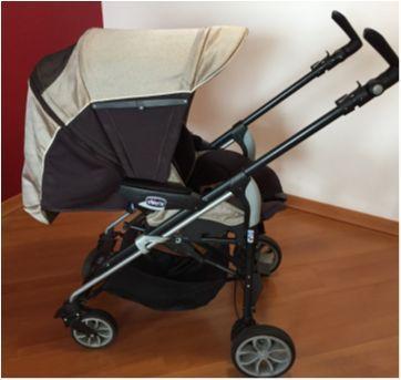 Carrinho de bebê Chicco, completo - Sem faixa etaria - Chicco