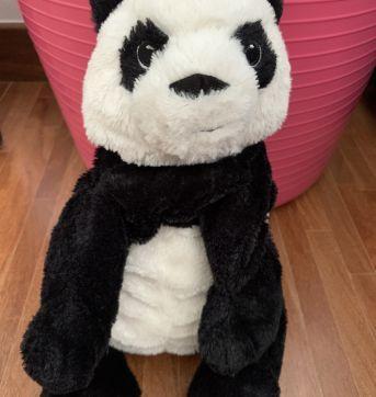 Panda pelúcia - Sem faixa etaria - Importado