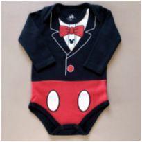 Body Mickey - 6 a 9 meses - Marlan