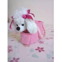 Bolsa com cachorra de pelúcia da Barbie - Sem faixa etaria - Barbie