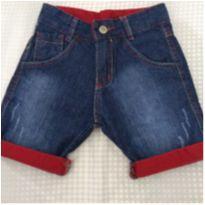 Bermuda jeans menino - 4 anos - Não informada