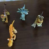 Boneco dinossauro lote -  - Não informada