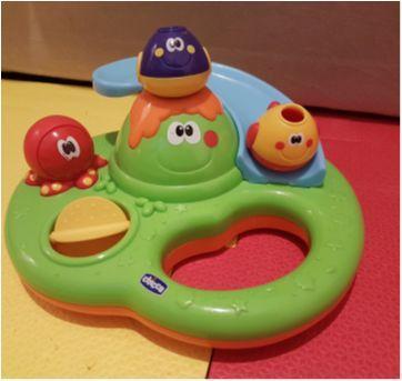 Brinquedo para banho bubble island - Sem faixa etaria - Chicco