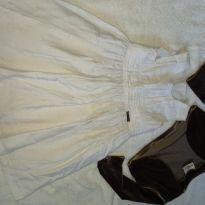 Vestido charmoso com bolero aveludado - 3 anos - Essência Viva