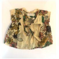 Bata floral alegre - 24 a 36 meses - Fábula