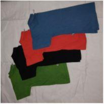 Kit camiseta BB básico - 2 anos - BB Básico