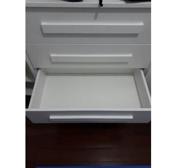 Cômoda Branca Allegrini - Sem faixa etaria - Não informada