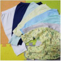 Lote de calças 3 a 9 meses - 6 meses - sem etiqueta
