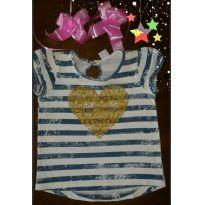 Camiseta Infantil Listrada - 3 anos - Baby Club