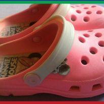 Sandália Crocs Minnie Mouse Infantil - Rosa - N. 26/27 - 26 - Disney