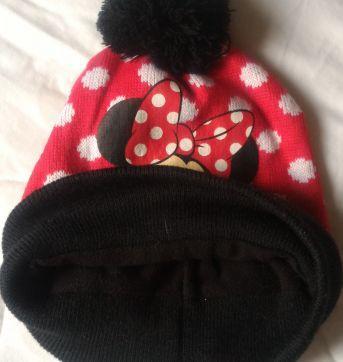 Gorro de Lã com Pompom Mickey - Sem faixa etaria - Disney