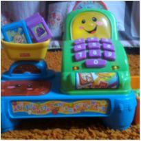 Caixa Registradora Fisher Price (Sem Som e Luzes) -  - Fisher Price