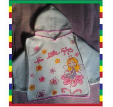 Blusa de Frio Moletom com Capuz - PROMOÇÃO - 4 anos - Fakini