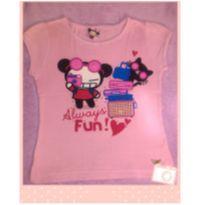 Camiseta Pucca - 5 anos - Fakini