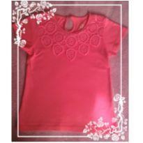 Camiseta com Rendinha - PROMOÇÃO - 24 a 36 meses - Baby Club