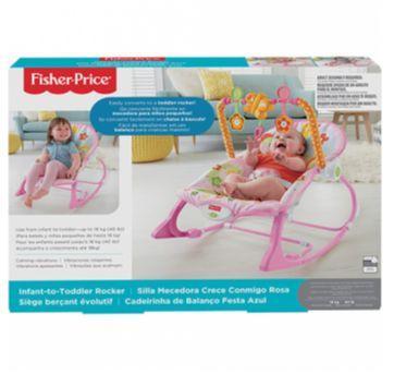 Cadeirinha de Descanso Bouncer Minha Infância Rosa Fisher Price - Sem faixa etaria - Fisher Price