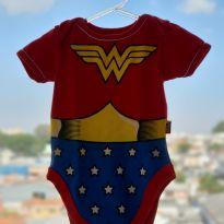 Body Mulher Maravilha - 3 a 6 meses - Piticas