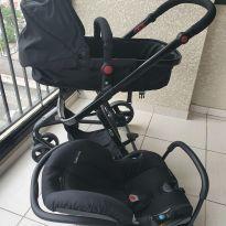 Carrinho de Bebê Safety 1st Travel System Mobi - Preto -  - Safety 1st
