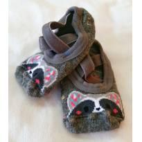 Meia sapatilha para menina raposa Puket - 0 a 3 meses - Puket