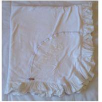 Manta branca com babados Curumim -  - Curumim Moda Bebê