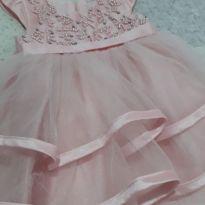 Vestido perolas - 9 a 12 meses - Petit Cherie