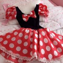 Fantasia da Minnie - 3 anos - Não informada