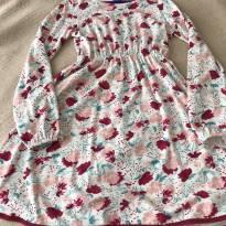 Vestido de flores - 7 anos - Hering