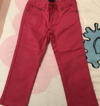 Calça sarja rosa - 4 anos - Polo