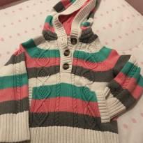 Blusão com capuz da Tommy - 4 anos - Tommy Hilfiger