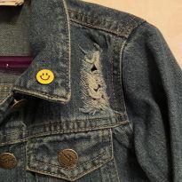 Jaquetinha jeans transada - 5 anos - Palomino