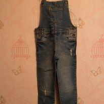 Jardineira Jeans fashion - 5 anos - Zara Home Kids