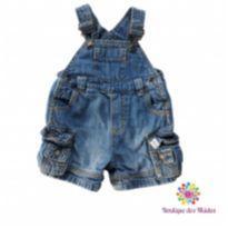 Jardineira jeans - Carter`s - 6 a 9 meses - Carter`s