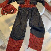 Fantasia Homem Aranha com enchimento - 5 anos - Sem marca