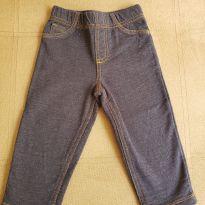Calça Jeans Bebê Carter`s Bolsos Denim Escuro. - 18 meses - CARTERS/TIPTOP/ZARA