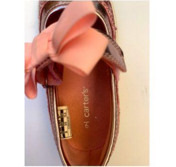Sapato Lindo Rosa Brilhante Carter`s - 25 - Carter`s
