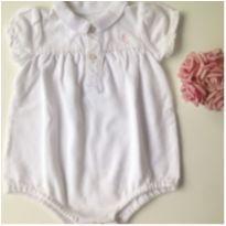 Body Branco Ralph Louren - 6 meses - Ralph Lauren