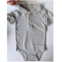 Body Polo Cinza Carter`s - 9 meses - Carter`s