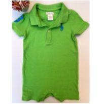 Macacão Verde Ralph Lauren - 9 meses - Ralph Lauren