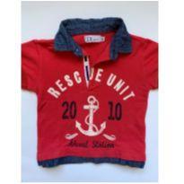 Camiseta Polo DL Boy - 6 meses - DL Boy