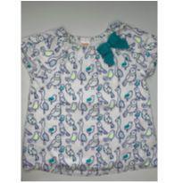 Blusa passarinhos Gymboree - 3 anos - Gymboree