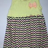Vestido amarelo Kyly - 3 anos - Kyly