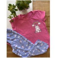 Pijama Unicórnio - 4 anos - Demillus