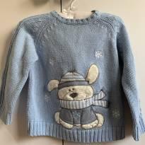 Suéter de linha fofo do Urso - 12 a 18 meses - The Children`s Place