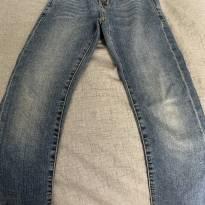 Calça Zara jeans menino 6/7