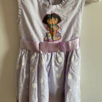 Vestido Dora Aventuteira - 2 anos - Artesanal