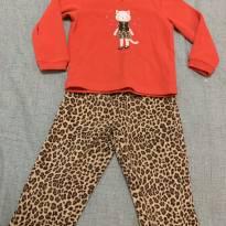 Pijama plush Carter's menina 2 anos - 18 a 24 meses - Carter`s