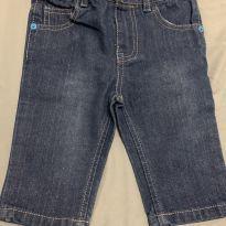 Calça jeans bebê da Hurley - 3 a 6 meses - Hurley