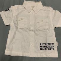 Camisa Milon - 6 a 9 meses - Milon
